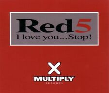 RED5 cd 6 track maxi single I LOVE YOU...STOP! multiply records CDMULTY20 1997 U