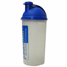 C.M.S Medical Universal Sports Tech Mezclador Batidor de proteína Gimnasio frascos de plástico