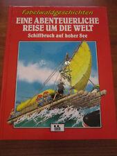 E4)KINDERBUCH FABELWALDGESCHICHTEN SCHIFFBRUCH AUF HOHER SEE TONY WOLF ISIS 1995
