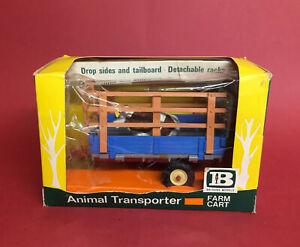 Scarce 1969-73 Britains 1/32 Animal Transporter Trailer No9568 ExIB
