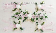 5-tlg. Tischdekoration rosa zur Hochzeit Taufe Tischdeko TD0062 (1)