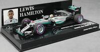 Minichamps Mercedes-AMG F1 W07 Abu Dhabi Win 2016 Lewis Hamilton 410160744 1/43