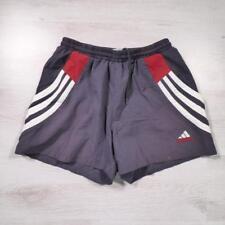 "ADIDAS 30"" Vintage Grey Polyester Swimming Swim Shorts Small #B2624"