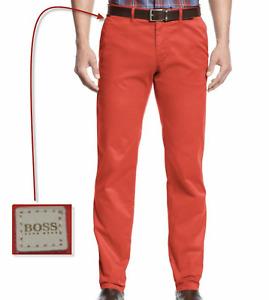 HUGO BOSS 'Crigan' Stretch Cotton Regular Straight Fit Light-weight Pants NWT