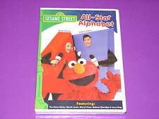 Sesame Street - All Star Alphabet (DVD, 2005)   ***NEW SEALED***