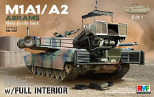M1A1 / A2 Abrams mit Interior - Rye Field Model 5007