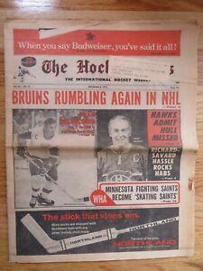 THE HOCKEY NEWS December 8, 1973 Newspaper ALEX DELVECCHIO HENRI RICHARD