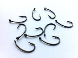 50 TEFLON Carp Fishing Hooks, Size 6, MICRO BARBED
