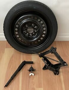 "2000-2005 Saturn L Series OEM 16""x4"" COMPACT SPARE TIRE & WHEEL KIT w/JACK"