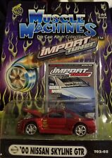 Muscle Machines Import Tuner '00 Nissan Skyline GTR Die-cast 1:64 Scale [P4]
