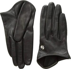 Vivienne Westwood 258569 Women's Short Gloves Black Size Medium