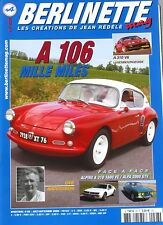 Berlinette Mag n°28 - 2008 - A110 mille miles - A310 V6 - Ove Andersson - Alpine