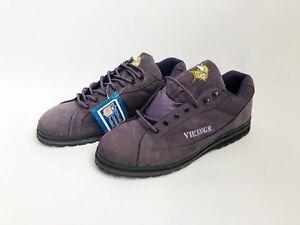 vintage minnesota vikings eastport sneakers shoes mens size 13 deadstock NIB 90s