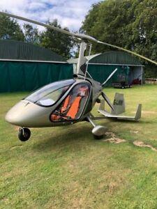 Magni M-24 Orion G-JJMM Gyrocopter Handmade Desktop Helicopter Model