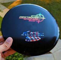 Rare Penned Black Paul McBeth 4x Star Destroyer Disc Golf Innova Rainbow Foil