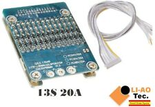 13S 48V Li-ion Lithium Cell 20A 18650 Battery Protection BMS PCB Board