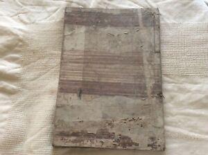 Très ancien recueil de poesie datant de la période Edo Japon