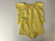 Chloe Girls Playsuit, Outfit, Size Age 2 Years, Yellow, VGc