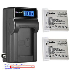 Kastar Battery LCD Wall Charger for Canon NB-4L 4LH Canon PowerShot ELPH 300 HS