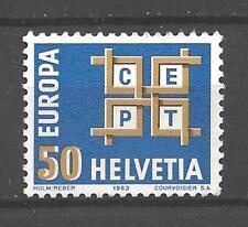 EUROPA 1963 Suisse - Switzerland neuf ** 1er choix