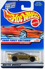 Hot Wheels 1998 First Editions #16 Iroc Firebird #653 New On Card