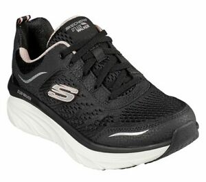 SKECHERS Walking Trainers Relaxed Fit D'Lux Walker Infinite Motion Shoes UK 6