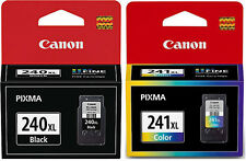 CANON PG 240XL BLACK & CL 24IXL COLOR INK CARTRIDGE NEW IN RETAIL BOXES GENUINE