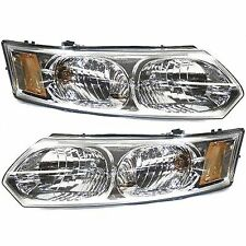 Headlight Set For 2003-2007 Saturn Ion Driver and Passenger Side w/ bulb
