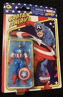 Kenner Marvel Legends Retro 3.75 Captain America New Avengers Action Figure