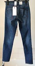 """BNWT-Current Elliott ~ aged blue slim/tapered hi-rise jeans ~ 26""""W x 30""""L"""