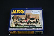 W539 MKD Train Maquette Ho 549 Amenagement interieur de poste d'aiguillage