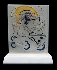 Andrea Smith ORIGINAL Acrylic Painting SCULPTURE Hand Signed Marble Glass Art