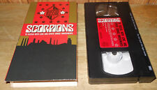 New ListingScorpions: To Russia With Love and Other Savage Amusements (1989) Vhs 1980s rock
