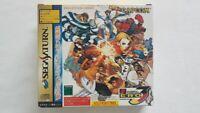Street Fighter Zero 3 Sega Saturn VGC NTSC-J