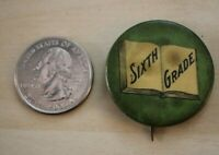 Vintage 6th Sixth Grade H.B. Windrath Buffalo NY Pin Pinback Button #28444