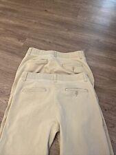 Mens Lee Comfort Pants, Straight Fit, 2 Pair, Size 32x32