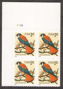 US. 3031. 1c. American Kestrel. PB 4 #7777B LR. MNH. 1999
