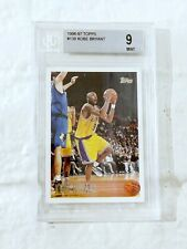 Rookie #138 Kobe Bryant 1996 Graded BGS 9