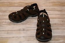 Keen Newport Leather Hiking Sandals for Men - Brown - Size 8.5
