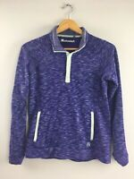 Avalanche Sweatshirt Womens Purple S Small Snap Top