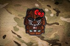 tactics Darth Vader Star Wars Hello Kitty embroidery morale back patch