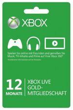 Xbox Live Gold 12 Monate Key Code Xbox 360 Xbox One