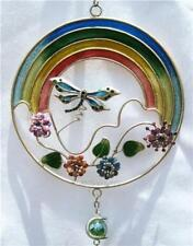 RAINBOW DRAGONFLY WINDCHIME SUNCATCHER WIND CHIME NEW