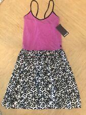 Hurley girls sun dress / cover up / pink animal print / XL / MSRP $36