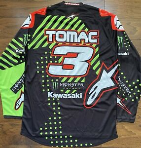 Eli Tomac Monster Energy Kawasaki Alpinestars AMA Supercross / Motocross Jersey