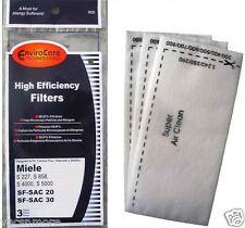 3 High Efficiency Filters, Miele SF-SAC 20, SF-SAC 30 # 905