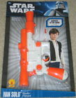 Star Wars Han Solo Authentic Blaster with Sounds Costume Toy NEW UNUSED