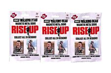 AMC Rise Up Magnetic Metal Cards 3 Sealed Packs