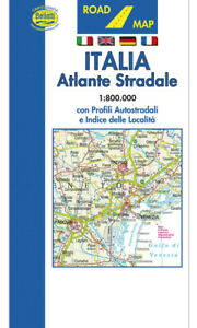 Italia Atlante Stradale [Tascabile] [Scala 1:800.000] [Carta/Mappa] Belletti