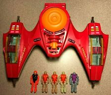 1987 Air Raiders Twin Lightning and Figures Lot
